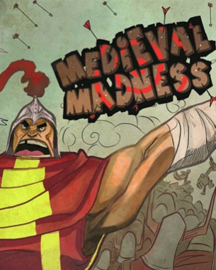 Medieval Madness is a real time strategy game where you control different medieval units to defeat your opponent. You play this game by using a coin draw system. Draw a coin from your coin bag and use or discard it. There are no turns everything is real time, so speed is a big factor of this game. But strategy is still the main focus, so be smart and use your order coins smart and go for the victory!