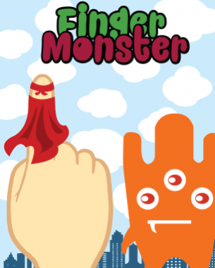 You are the Hero Finger and mankind's last hope! Finger Monster is a quick game where the player must fly through a monster, collect the coins and defeat the monster by hitting the heart. Fly to the next monster and repeat the process! You only have a single shot and a limited time; how many monsters can you defeat and how many coins can you collect?